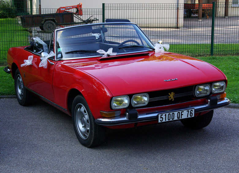 PEUGEOT 504 Cabriolet 2L Injection de 1972
