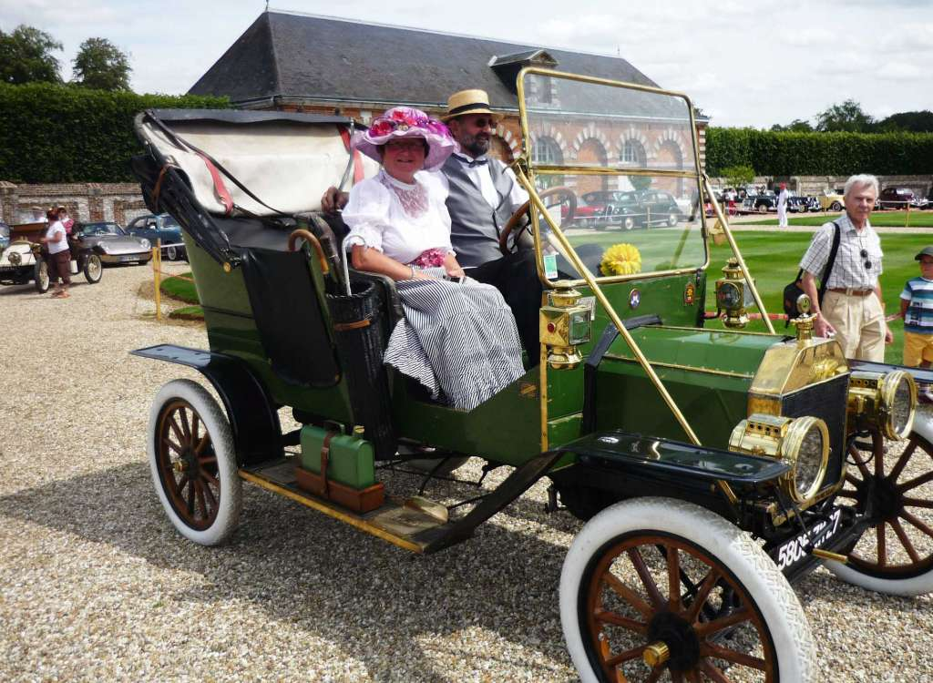 FORD T - TOURING DE 1910